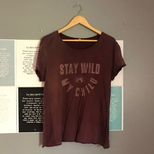 Billabong Stay Wild My Child T shirt